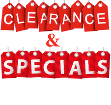 Clearance & Specials