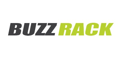 Image result for buzz rack logo